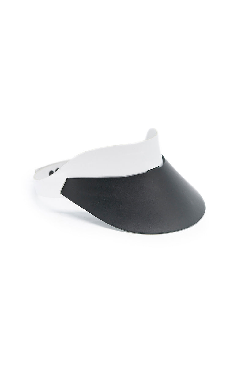 Vegetable leather visor